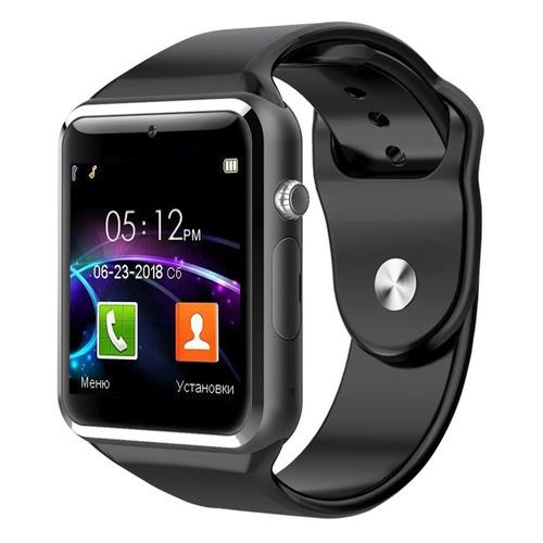 Смарт-часы JET Phone SP1, 48мм, 1.54, серый / черный [sp1 black]