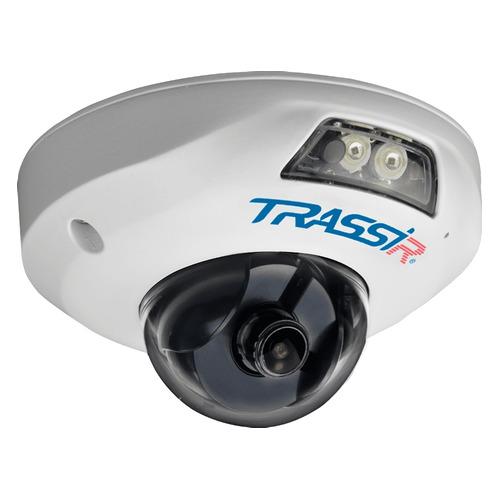 Фото - Видеокамера IP TRASSIR TR-D4121IR1, 1080p, 3.6 мм, белый видеокамера ip trassir tr d2121ir3 1080p 2 8 мм белый