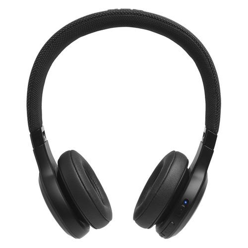 Гарнитура JBL LIVE400BT, Bluetooth, накладные, черный [jbllive400btblk] LIVE400BT по цене 4 730