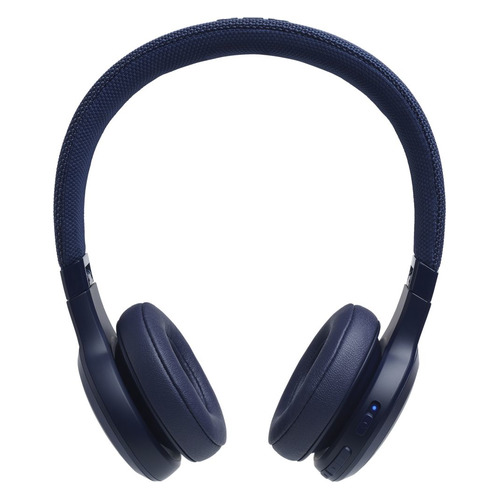 цена на Наушники с микрофоном JBL LIVE400BT, Bluetooth, накладные, синий [jbllive400btblu]