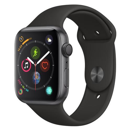 Смарт-часы APPLE Watch Series 4 44мм, темно-серый / черный [mu6d2/a] запчасти apple watch