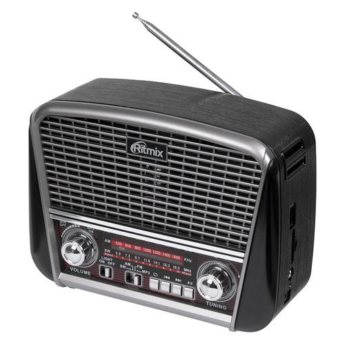 цена на Радиоприемник RITMIX RPR-065, черный