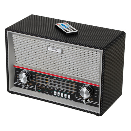 Радиоприемник RITMIX RPR-102, черный цена и фото