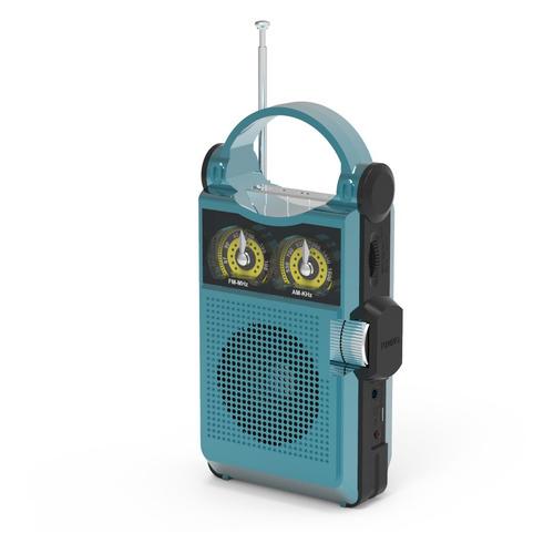 Радиоприемник RITMIX RPR-333, синий цена и фото