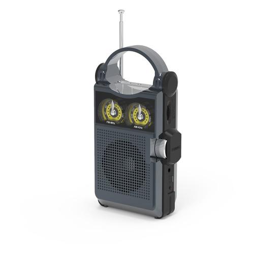 Радиоприемник RITMIX RPR-333, титан цена и фото