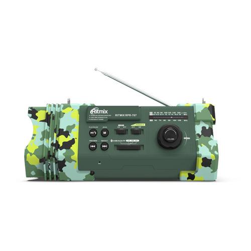 Радиоприемник RITMIX RPR-707, зеленый цена и фото