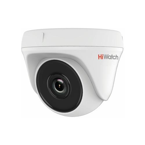 все цены на Камера видеонаблюдения HIKVISION HiWatch DS-T133, 720p, 2.8 мм, белый онлайн