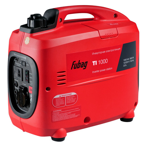Бензиновый генератор FUBAG TI 1000, 220 В, 1кВт [838978] fubag ti 1000