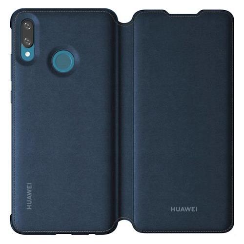 лучшая цена Чехол (флип-кейс) HONOR Flip, для Huawei P Smart (2019), синий [51992895]