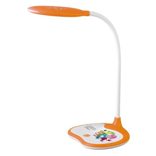 Светильник настольный ЭРА NLED-433-6W-OR Фиксики на подставке, 6Вт, белый [б0028463] эра nled 425 4w or оранжевый