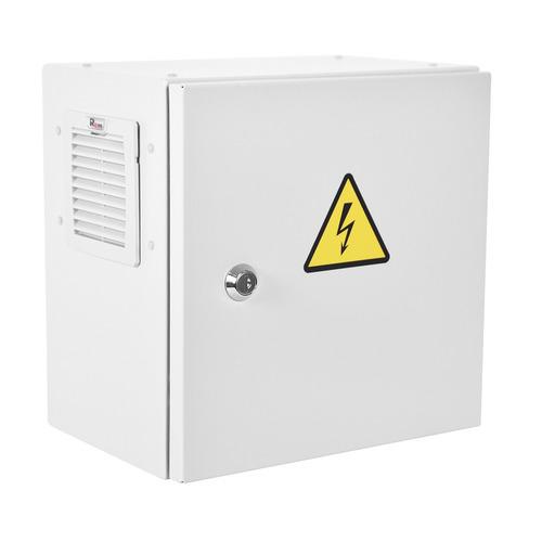 Шкаф серверный ЦМО ЭКОНОМ (ШТВ-НЭ-3.3.21-3ВВА-Т1) настенный 7U 300x210мм пер.дв.стал.лист задн.дв.сп