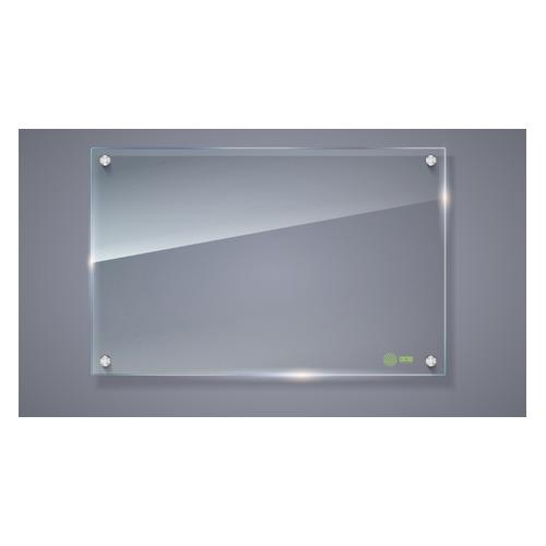 Фото - Демонстрационная доска Cactus CS-GBD-65x100-TR стекло стеклянная 65x100см прозрачный защитное стекло zup для apple watch 42mm прозрачный