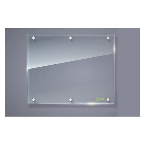 Фото - Доска стеклянная Cactus CS-GBD-120x150-TR стеклянная прозрачный 120x150см стекло доска стеклянная cactus cs gbd 90x120 wt стеклянная белый 90x120см стекло