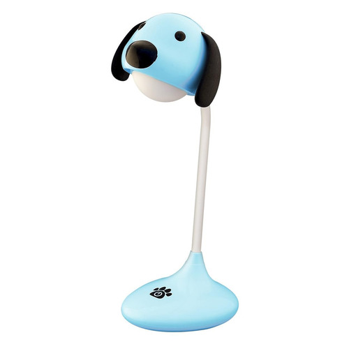 Ночник Lucia Зверяшки-светяшки Песик пластик/силикон голубой Зверяшки-светяшки Песик по цене 780