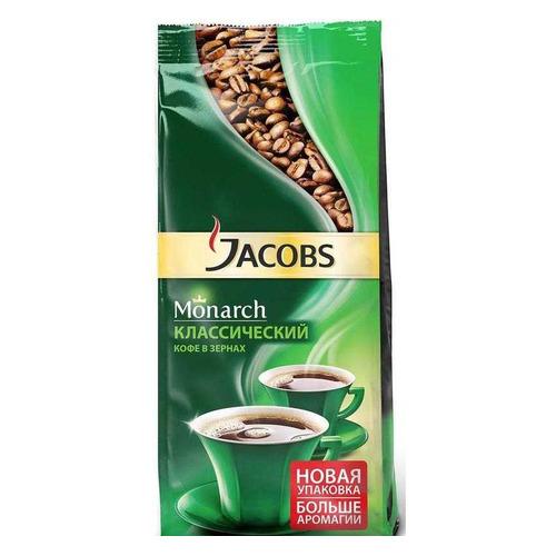 цена Кофе зерновой JACOBS MONARCH Espresso, 230грамм онлайн в 2017 году