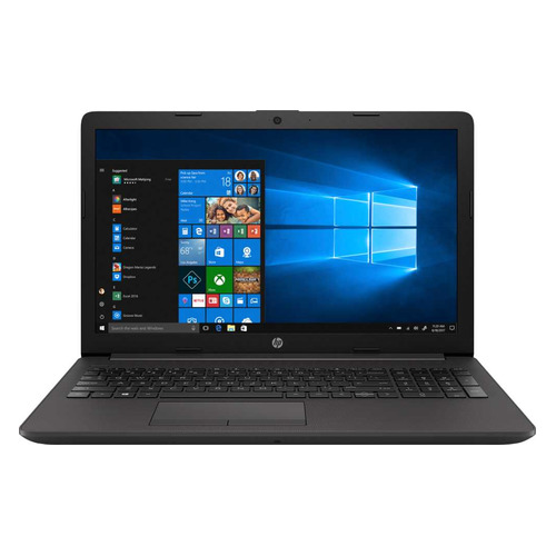 Ноутбук HP 255 G7, 15.6, AMD Ryzen 3 2200U 2.5ГГц, 8Гб, 128Гб SSD, AMD Radeon Vega 3, DVD-RW, Windows 10 Professional, 6BN12EA, темно-серебристый