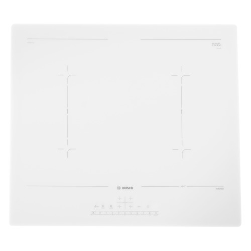 Индукционная варочная панель Bosch PVQ612FC5E, независимая, белый