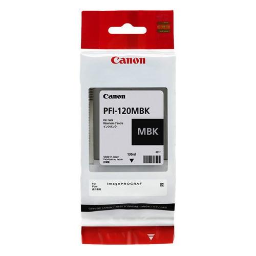 Картридж CANON PFI-120 MBK черный матовый [2884c001]  - купить со скидкой