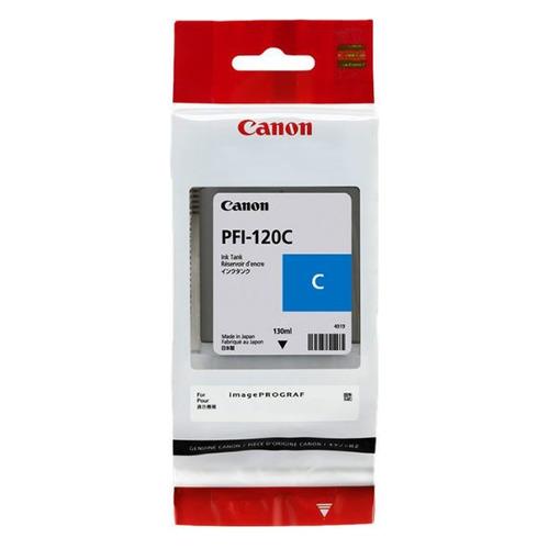 Картридж CANON PFI-120 C, голубой [2886c001] цена