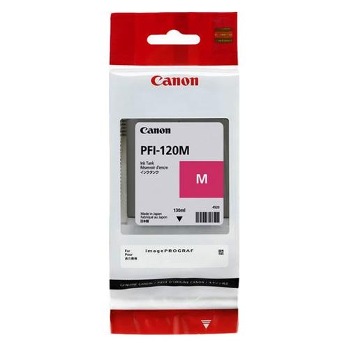 Картридж CANON PFI-120 M, пурпурный [2887c001] картридж canon pfi 306 pm для ipf8300s 8400 9400s 9400 фото пурпурный