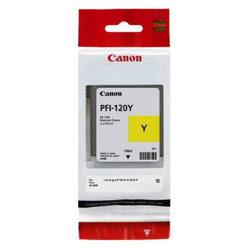 Картридж CANON PFI-120 Y, желтый [2888c001] PFI-120 Y по цене 6 880