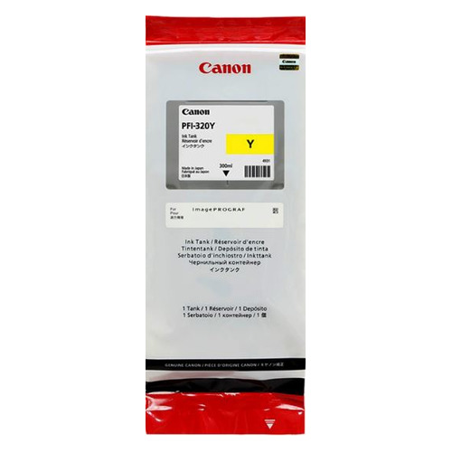Картридж CANON PFI-320 Y, желтый [2893c001] PFI-320 Y по цене 11 680