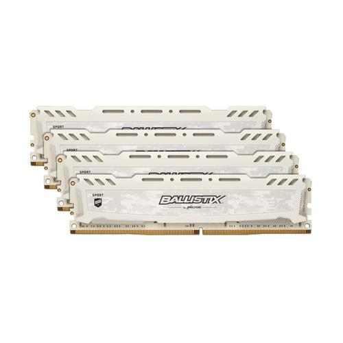 Модуль памяти CRUCIAL Ballistix Sport LT Red BLS4K8G4D26BFSEK DDR4 - 4x 8Гб 2666, DIMM, Ret CRUCIAL