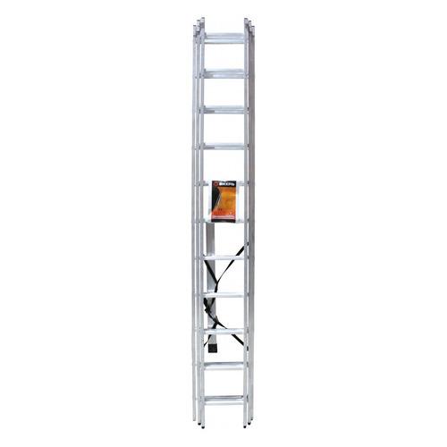 Лестница Вихрь ЛА 3х11 алюминий 11ступ. H7.09м макс.нагр.:150кг (73/5/1/18) лестница вихрь лта 4х3 алюминий 3ступ h3 3м макс нагр 120кг 73 5 1 14