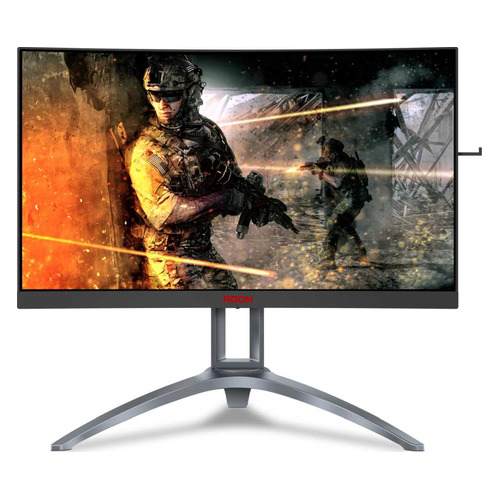 """Монитор игровой AOC Gaming AG273QCX 27"""" черный цена и фото"""