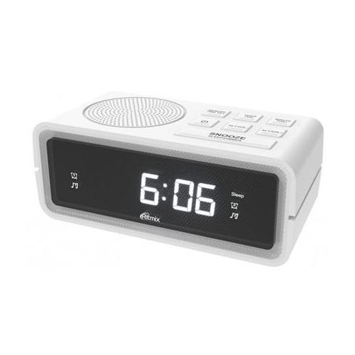 Радиобудильник RITMIX RRC-606, белый RRC-606 по цене 850
