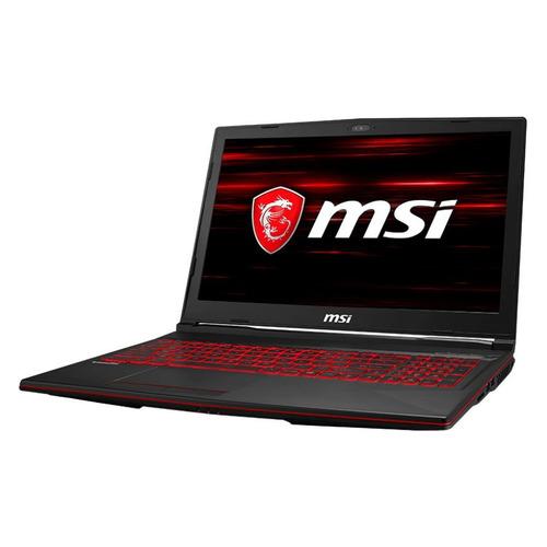 Ноутбук MSI GL63 8SE-422XRU, 15.6, Intel Core i7 8750H 2.2ГГц, 8Гб, 1000Гб, 128Гб SSD, nVidia GeForce RTX 2060 - 6144 Мб, Free DOS, 9S7-16P732-422, черный