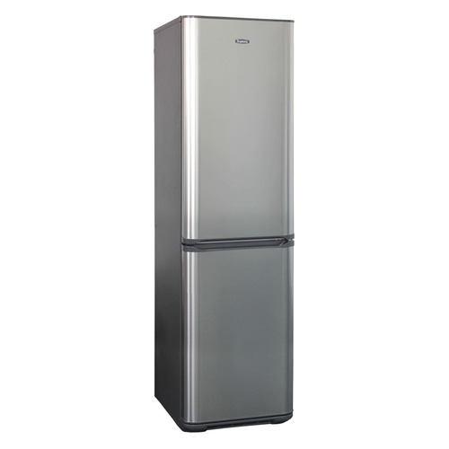 лучшая цена Холодильник БИРЮСА Б-I380NF, двухкамерный, нержавеющая сталь