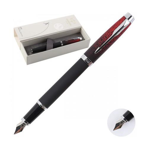 Ручка перьевая Parker IM SE F320 (2073479) Red Ignite F сталь нержавеющая подар.кор. шапка ignite цвет серый 018 hiphop stripe размер 54 56