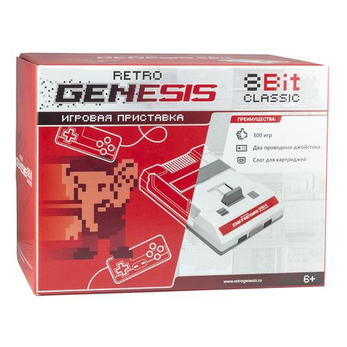 цена на Игровая консоль RETRO GENESIS 300 игр, белый/красный