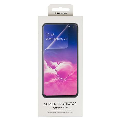 Защитная пленка для экрана SAMSUNG ET-FG970CTEGRU для Samsung Galaxy S10e, прозрачная, 2 шт защитные пленки для приставок