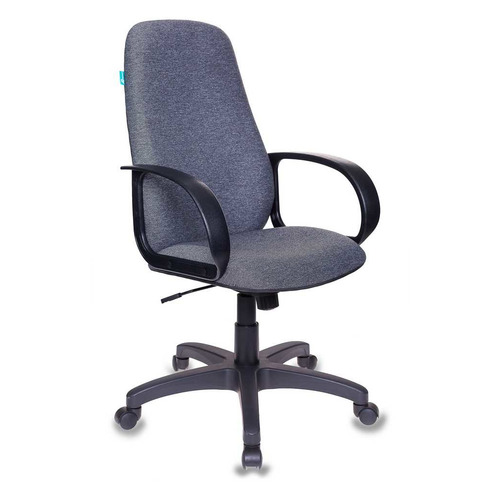 Кресло руководителя БЮРОКРАТ CH 279, на колесиках, ткань, серый [ch 279 g]