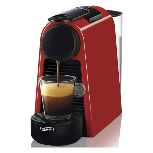 Капсульная кофеварка DELONGHI Nespresso Essenza mini Bundle EN85.R, 1260Вт, цвет: красный [0132191648] цена и фото
