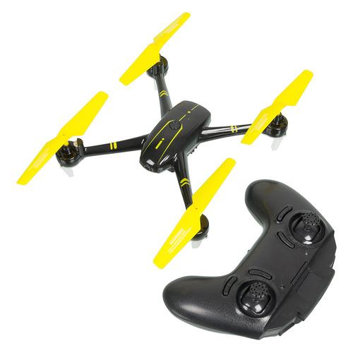 Квадрокоптер PILOTAGE Shadow HD с камерой, черный [rc62670]