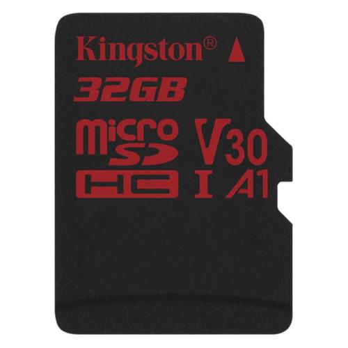 Фото - Карта памяти microSDHC UHS-I U3 KINGSTON Canvas React 32 ГБ, 100 МБ/с, Class 10, SDCR/32GBSP, 1 шт. welly 43714 велли модель винтажной машины 1 34 39 pontiac gto
