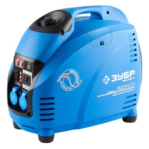 Фото - Бензиновый генератор ЗУБР ЗИГ-2500, 220, 2.5кВт генератор зубр зиг 1200