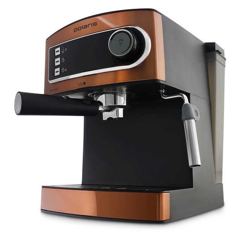 лучшая цена Кофеварка POLARIS PCM 1515E Adore Crema, эспрессо, бронзовый