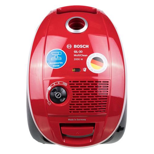 Пылесос BOSCH BSGL3MULT1, 2000Вт, красный BSGL3MULT1 по цене 5 990