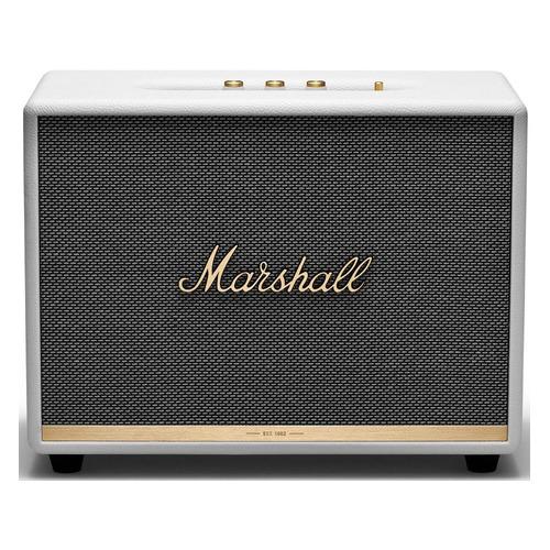 Фото - Портативная колонка MARSHALL Woburn II, 130Вт, белый / золотистый беспроводная hi fi акустика marshall woburn ii brown