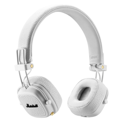 цена на Наушники с микрофоном MARSHALL Major III, 3.5 мм/Bluetooth, накладные, белый