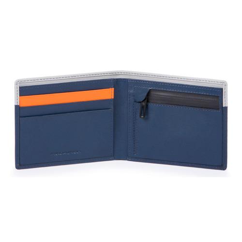 Кошелек мужской Piquadro Urban PU4823UB00R/BLGR синий/серый рюкзак мужской urban ca4818ub00 blgr