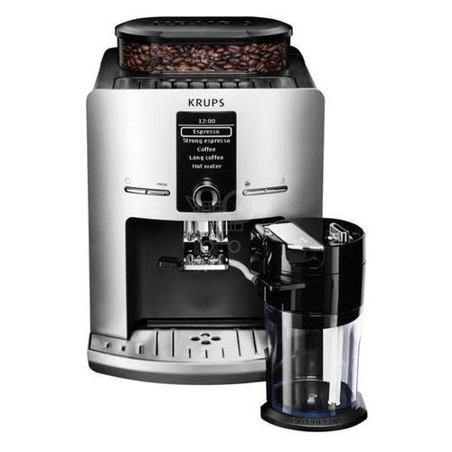 Кофемашина KRUPS EA829E10, серебристый/черный кофемашина krups ea894t10 серебристый