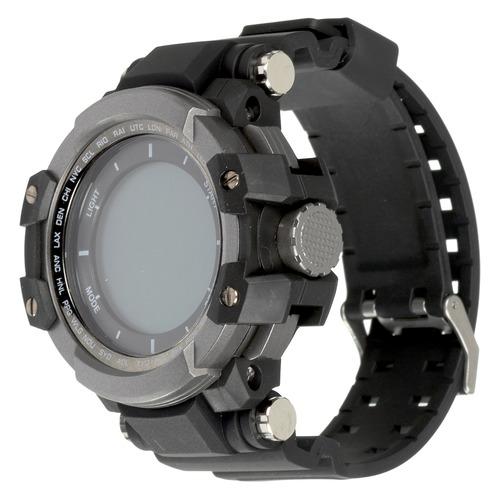 Смарт-часы CANYON CNS-SW51BB, 1.2, черный/серебристый / черный [ds1cnssw51bb] цена