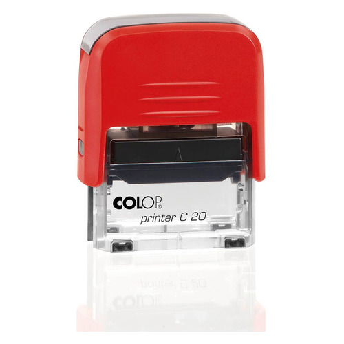 Текстовый штамп автоматический COLOP Printer C20, оттиск 38 х 14 мм, прямоугольный штамп стандартный colop printer c20 1 46 слово дубликат 520393