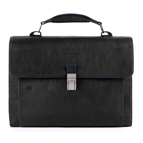 Портфель Piquadro B2S CA4745B2S/N черный кожаный портфель piquadro pulse ca3111p15 ca3111p15 n