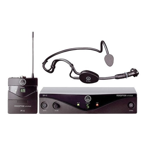 Радиосистема AKG Perception Wireless 45 Sports Set BD A беспровод. черный
